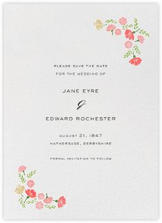Marianne II (Save the Date) - Paperless Post