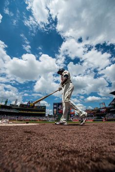 Is this Heaven? No, it's Turner Field. #Braves #baseball