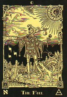 The Fool, Book of Azathoth Tarot, self ... | Tarot - Major Arcana