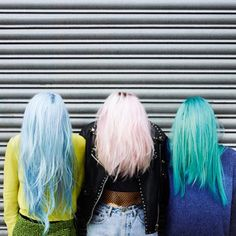 I want - or should I say need - my hair like the girl's in the middle | tiawithstyle