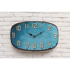 City Blues Clock | dotandbo.com