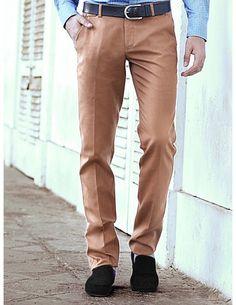 Buy Light Brown Formal Trouser Online. http://www.bharatplaza.com/mens-wear/trousers.html