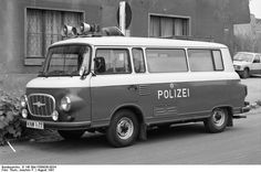 Barkas B1000 Volkspolizei