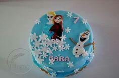 Frozen cake, dort Ledové království Cakepops, Frozen, Christmas Ornaments, Holiday Decor, Home Decor, Decoration Home, Cake Pop, Room Decor, Cake Pops