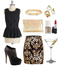 Outfit: Ladies Night Out {via My. Daily. Randomness.}