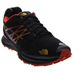 The North Face Ultra Cardiac Shoe - Men's TNF Black/TNF Yellow 12 >>> You can find out more details at the link of the image.