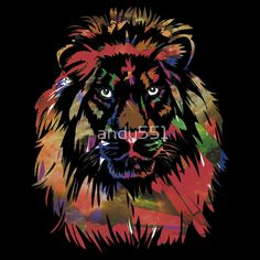 """Lion"" T-Shirts & Hoodies by andy551 
