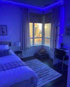 Neon Bedroom, Room Design Bedroom, Room Ideas Bedroom, Design Room, Bedroom Modern, Bedroom Designs, Bedroom Wall, Master Bedroom, Chill Room