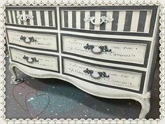 Hurricane Gray Chalk Mineral Paint - March 17 2019 at Painted Bedroom Furniture, Distressed Furniture, Funky Furniture, Refurbished Furniture, Repurposed Furniture, Shabby Chic Furniture, Furniture Projects, Furniture Making, Furniture Makeover