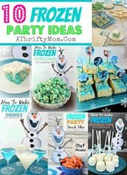 Frozen Party Ideas, 10 ideas for have a FROZEN party,Disney Frozen food, Frozen Party, Where to buy Disney Frozen Party supplies #Frozen, #Disney