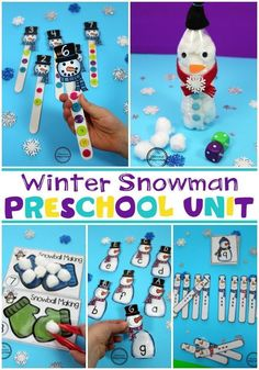 How To Produce Elementary School Much More Enjoyment Preschool Snowman Unit For Winter Winter Crafts For Kids, Winter Fun, Puffy Paint, Snowman Crafts, Pre School, Preschool Activities, Elementary Schools, The Unit, Education