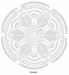 The Dark Web of Crystallographic Crochet Crochet Doily Diagram, Crochet Doily Patterns, Crochet Chart, Thread Crochet, Filet Crochet, Crochet Stitches, Crochet Circles, Crochet Round, Crochet Home