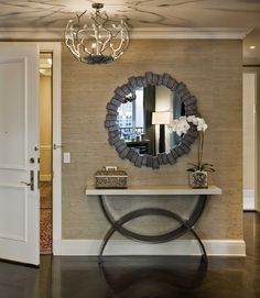 This entryway idea is simple and elegant. (from Modern Home Today)