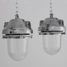 Czech reclaimed industrial pendants