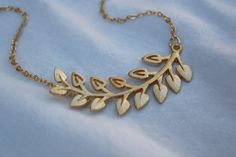 Branch Necklace by janiecox on Etsy, $21.00