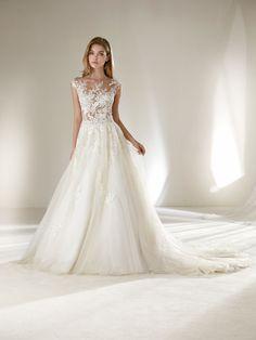 Vestido de noiva princesa baixas Coleção Pronovias 2018