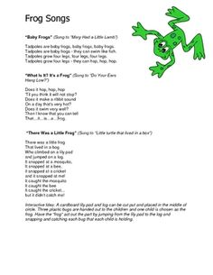 This 30 page file includes many fun frog-themed ideas that you can use in your early childhood classroom. 4.00
