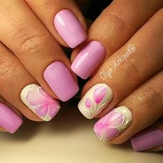 Маникюр | Видеоуроки | Art Simple Nail www.escherpe.com World of Scarves