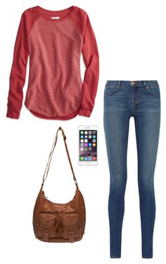 simple. by krnewly on Polyvore featuring polyvore, fashion, style, American Eagle Outfitters, J Brand, Wet Seal and clothing