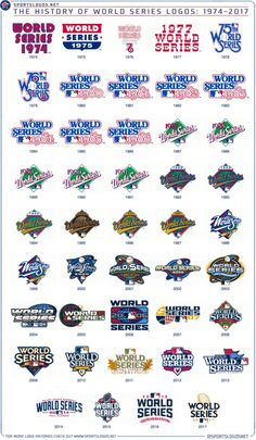 The 2017 World Series and MLB Postseason logos have both made their first appearance, showing up on a digital copy of the 2017 MLB Umpire Media Guide which has recently been posted online. Mlb Team Logos, Mlb Teams, Sports Logos, Baseball Art, Baseball Jerseys, Baseball Clothes, Baseball Stuff, American Baseball League, Astros World Series