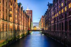 Hamburg Speicherstadt  Fine Art Photography by MatkirschPhoto