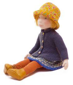 Claire  Handmade cloth doll by AldegondeCeelen on Etsy, $400.00