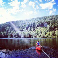 En pleine nature #voyage #travel #sweden #river #blogging by chris_voyage #travel