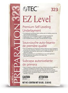 EZ Level® Premium Self Leveling Underlayment | Tecspecialty.com
