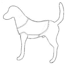 Free Printable Sewing Patterns Dog   Instructions for Making Therapy Dog Vests
