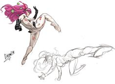diepod-stuff: Ctchrysler's Annie mei. I put color on a sketch… yay