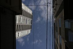 https://flic.kr/p/227t6w1 | under the sky | an old congested town at the north side of the theater Kabukiza.