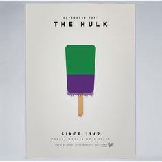 Chungkong - My Superhero Ice Pop - The Hulk - Print