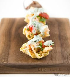 Simple and tasty shrimp-and-crab ceviche bites