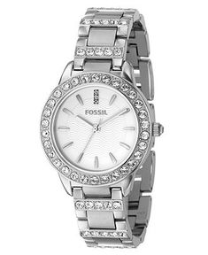 Fossil Watch, Women's Jesse Stainless Steel Bracelet ES2362 - Women's Watches - Jewelry & Watches - Macy's