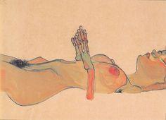 Totes Mädchen, Egon Schiele