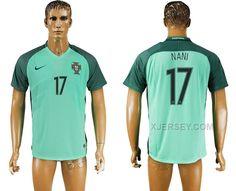 http://www.xjersey.com/portugal-17-nani-away-euro-2016-thailand-soccer-jersey.html PORTUGAL 17 NANI AWAY EURO 2016 THAILAND SOCCER JERSEY Only 33.11€ , Free Shipping!