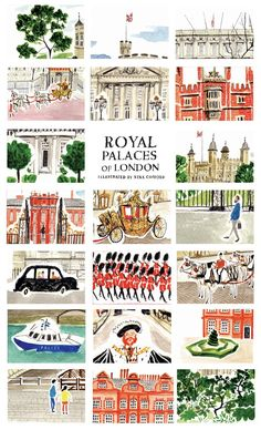 An illustrated tour of London- so cute!