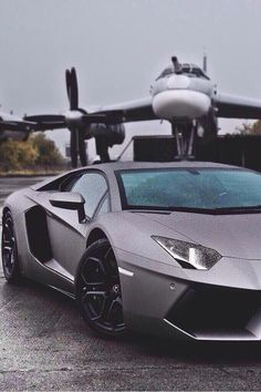 Matched the Lambo to the jet