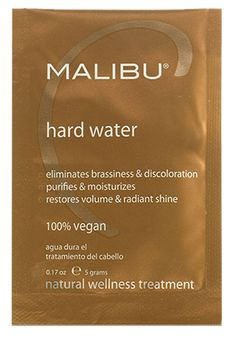 Amazing hair product for ANYONE who has hard water. Rids your hair of mineral build up and leaves it feeling shiny and full of life and color!