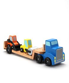 Take a look at this Melissa & Doug Low Loader Toy Set today!
