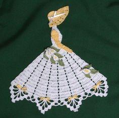 Ms Lily Crinoline Girl Doily-crochet pattern to buy Crochet Doily Patterns, Crochet Diagram, Thread Crochet, Crochet Motif, Crochet Designs, Crochet Doilies, Crochet Yarn, Free Crochet, Hand Crochet