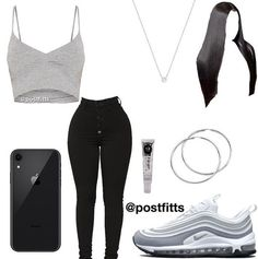 baddie outfits for school Outfits Teenager Mädchen, Swag Outfits For Girls, Cute Lazy Outfits, Teenage Girl Outfits, Cute Casual Outfits, Teen Fashion Outfits, Nike Outfits, Simple Outfits, Stylish Outfits
