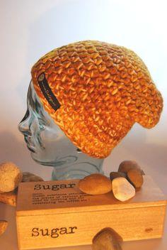 caramelfarbene Beanie - Mütze karamell von DaiSign auf DaWanda.com