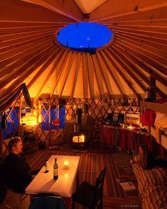 Yurt Interior / Colorado, USA © copyright by Jack Brauer Yurt Living, Outdoor Living, Tiny Living, Yurt Interior, Interior Photo, Mongolian Yurt, Yurt Home, Temporary Housing, Mountain Photography