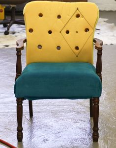 How to Upholster a Chair - part 3