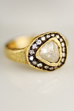 Todd Pownell/TAP Uncut Natural Diamond Ring