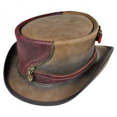 f3c90078 25 Best Steampunk! images in 2016   Top hats, Leather top hat, Hat shop