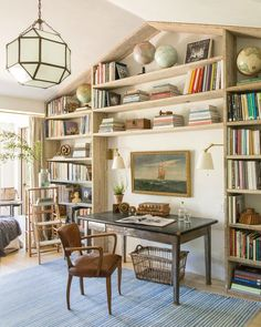 Love The Bookshelves In This House! Steve U0026 Brooke Giannettiu0027s Patina Farm  In Ojai   Hooked On Houses