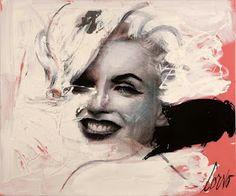 Marilyn Monroe, Painting by Corvo. Marilyn Monroe Tattoo, Marilyn Monroe Drawing, Marilyn Monroe Old, Soho, Pop Art, Rare Images, Realistic Paintings, Detailed Drawings