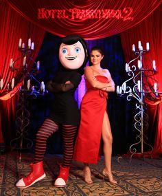 "Selena Gomez at the presentation of the film ""Hotel Transylvania 2"", after party at the 2015 summer of Sony pictures entertainment"